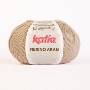 Merino Aran N°09 de KATIA pelote de 100 g coloris Taupe