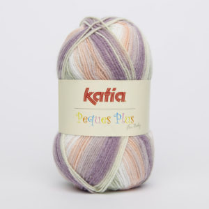 PEQUES PLUS N°62 de KATIA pelote de 50 g coloris Multicolore