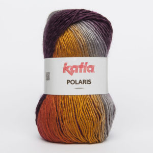 POLARIS N°64 de KATIA pelote de 100 g coloris Multicolore