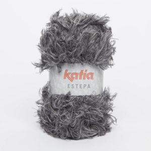 ESTEPA N°107 de KATIA pelote de 100 g coloris Gris Foncé