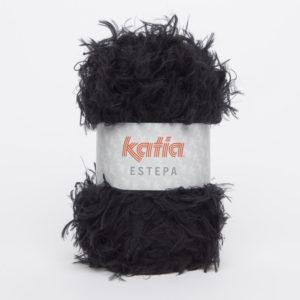 ESTEPA N°108 de KATIA pelote de 100 g coloris Noir