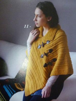 KIT Complet Poncho Prêt à être tricoté N°3