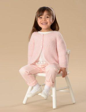 KIT Complet Gilet Prêt à être tricoté Taille 4 Ans à 8 Ans