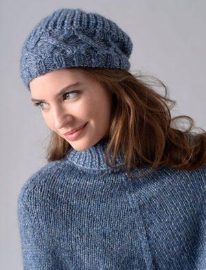 KIT Bonnet en Luciole Prêt à être tricoté