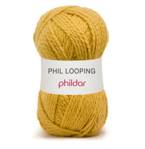 Looping de Phildar coloris Colza
