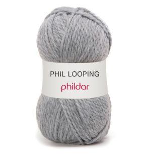 Looping de Phildar coloris Flanelle