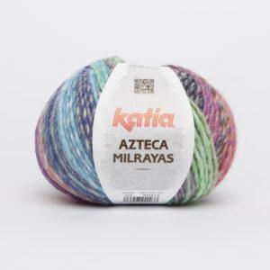 AZTECA Milrayas N°704 de KATIA pelote de 100 g coloris Multicolore