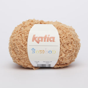 BOMBON N°204 de KATIA pelote de 50 g coloris Abricot