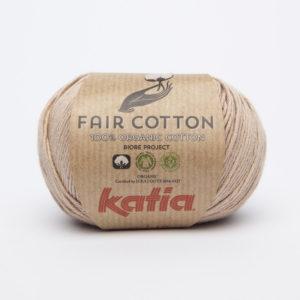 FAIR COTTON KATIA Coloris N°12 Brun Sépia