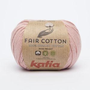 FAIR COTTON KATIA Coloris N°13 Rose Clair