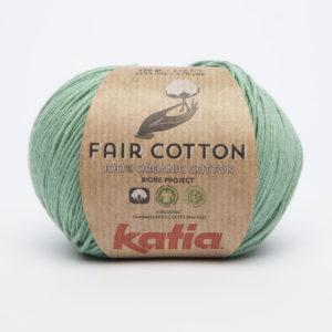 FAIR COTTON KATIA Coloris N°17 Vert Menthe