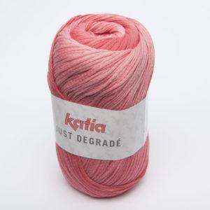 JUST DÉGRADÉ N°300 de KATIA pelote de 100 g coloris Rose