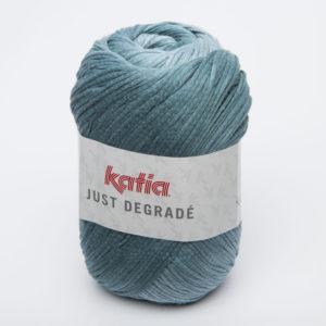 JUST DÉGRADÉ N°307 de KATIA pelote de 100 g coloris Bleu