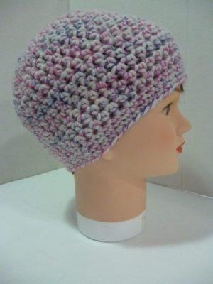 bonnet au crochet My Boshi Cream coloris multicolore