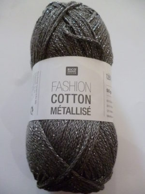 Fashion Cotton Métallisé N°05 Coton de RICO DESIGN