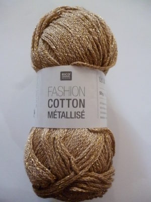 Fashion Cotton Métallisé N°03 Coton de RICO DESIGN