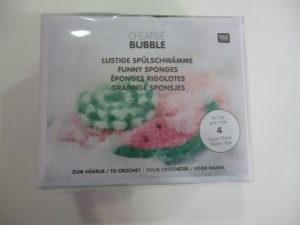 KIT Créative BUBBLE Éponges Rigolotes