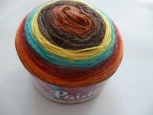 PAINT N°58 de KATIA pelote de 150 g coloris Multicolore