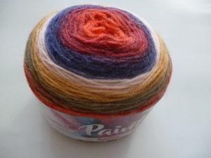 PAINT N°60 de KATIA pelote de 150 g coloris Multicolore