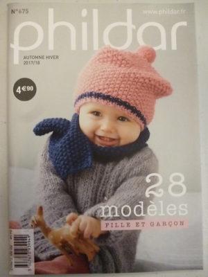 Phildar N°675 – 28 Modèles Layette 0 à 18 Mois