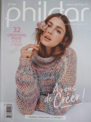 Phildar N°144 Femme – 32 Modèles Mode pour Automne-Hiver 2017/18