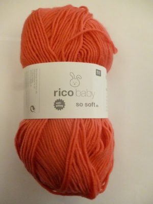 LOT de 3 Pelotes Baby So Soft de RICO DESIGN Coloris N°05