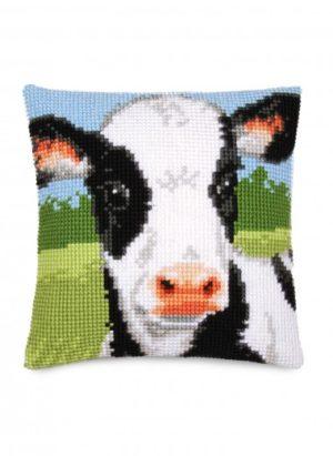 Coussin vache Bergère de France