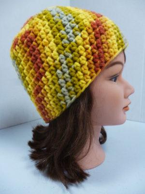 bonnet au crochet My Boshi coloris multicolore
