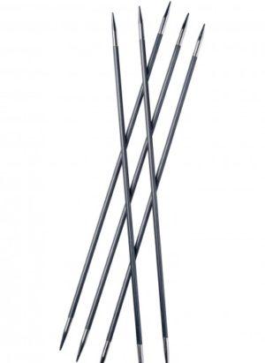 Aiguilles à tricoter double pointes carbone 20 cm KnitPro