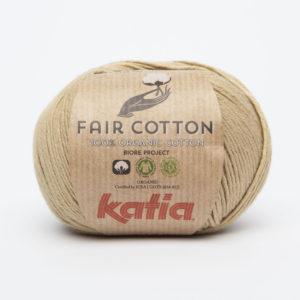 FAIR COTTON KATIA Coloris N°22 Ficelle