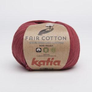 FAIR COTTON KATIA Coloris N°27 Fuchsia