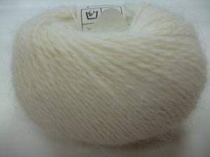 Cœur d'Angora de FONTY 100% Français Coloris N°224 Blanc