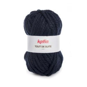 Tout de Suite KATIA pelote de 200 g Coloris N°107 Bleu Marine