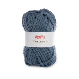 Tout de Suite KATIA pelote de 200 g Coloris N°108 Bleu Jeans