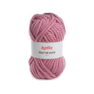 Tout de Suite KATIA pelote de 200 g Coloris N°115 Rose