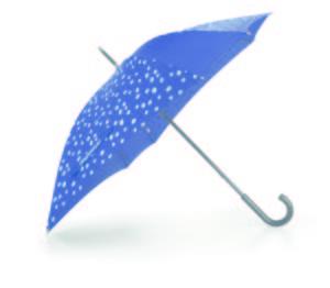 Parapluie «spots navy» Reisenthel