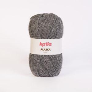 ALASKA N°10 de KATIA pelote de 100 g coloris Gris