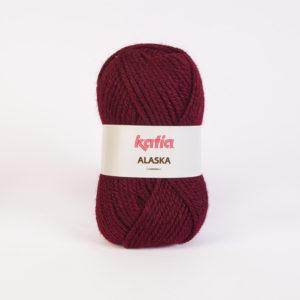 ALASKA N°12 de KATIA pelote de 100 g coloris Prune