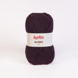 ALASKA N°13 de KATIA pelote de 100 g coloris Violet