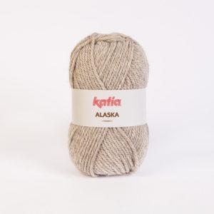 ALASKA N°14 de KATIA pelote de 100 g coloris Beige Rosé