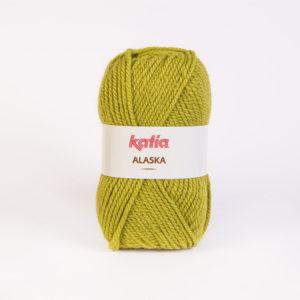 ALASKA N°19 de KATIA pelote de 100 g coloris Vert Anis
