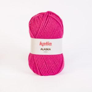 ALASKA N°22 de KATIA pelote de 100 g coloris Fuchsia