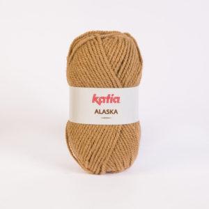 ALASKA N°25 de KATIA pelote de 100 g coloris Caramel