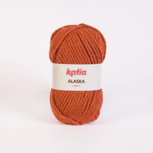 ALASKA N°28 de KATIA pelote de 100 g coloris Rouille