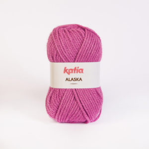 ALASKA N°29 de KATIA pelote de 100 g coloris Vieux Rose