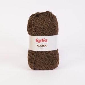 ALASKA N°30 de KATIA pelote de 100 g coloris Chocolat