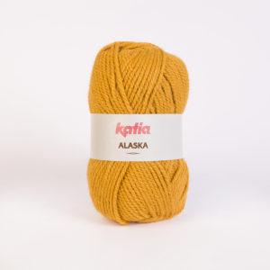ALASKA N°31 de KATIA pelote de 100 g coloris Safran