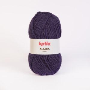 ALASKA KATIA pelote 100 g coloris N°35 Violet