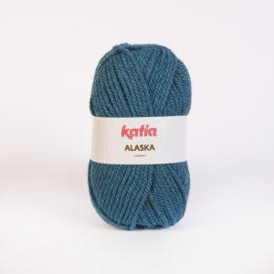 ALASKA KATIA pelote 100 g coloris N°36 Bleu Canard