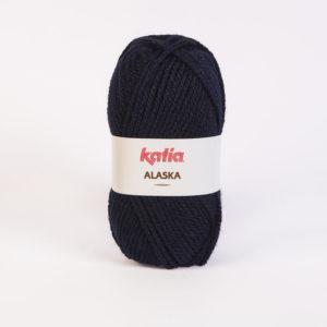 ALASKA N°05 de KATIA pelote de 100 g coloris Bleu Marine